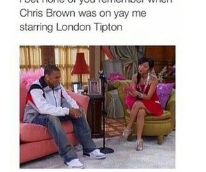 chris brown, quotes, and london tipton image