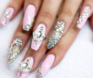 barbie, naildesign, and acrylicnails image