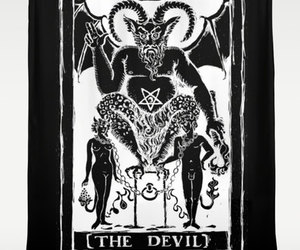 tarot, the devil, and witch craft image