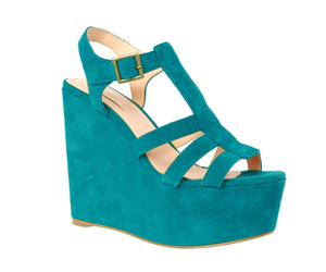 aqua, blue, and heels image