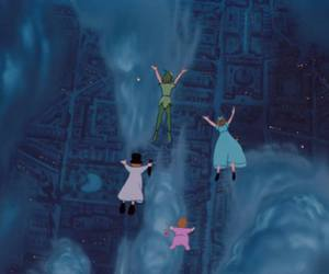 disney, peter pan, and movie image