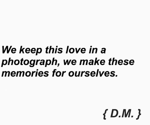 in love, Lyrics, and photograph image