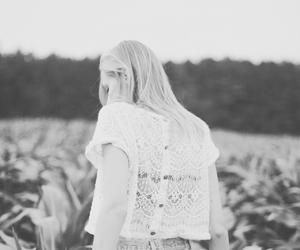 black and white, boho, and cool image