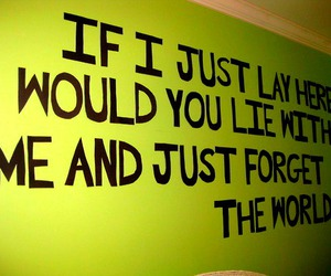 snow patrol, chasing cars, and Lyrics image