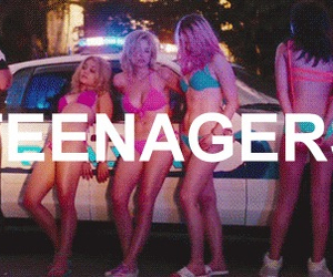 teenager, spring breakers, and selena gomez image