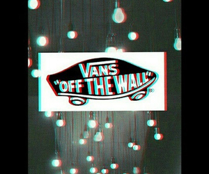 Logo, skate, and vans image