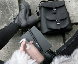 black, fashion, and grunge image
