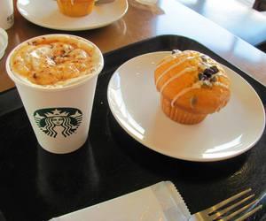 yummy, coffee, and food image