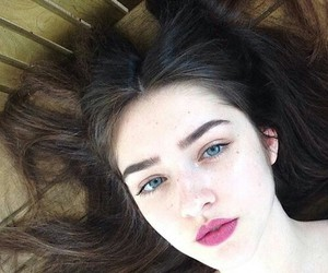 girl, pretty, and pale image