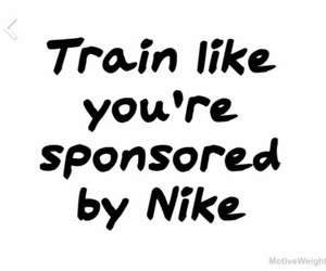 fit, goals, and nike image