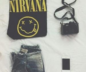 fashion, nirvana, and iphone image