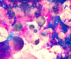 galaxy, kris, and pink image