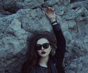 grunge, violet ell, and black image