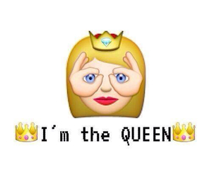 Queen and emoji image