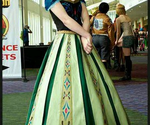 anna, frozen, and cosplay image