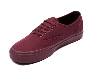 maroon, shoes, and vans image