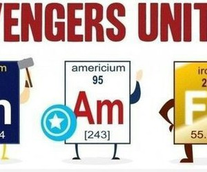 Avengers, captain america, and chemistry image