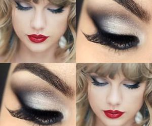 eyes, lips, and Taylor Swift image