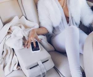 fashion, white, and luxury image