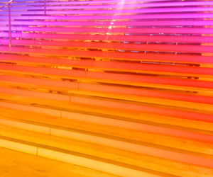 glow and stairs image
