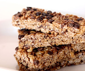 chocolate, food, and granola bars image
