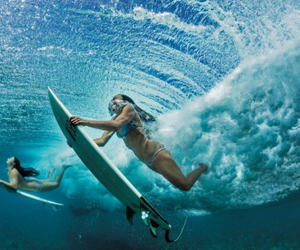 summer, water, and surf image