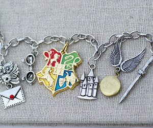 harry potter, hogwarts, and bracelet image