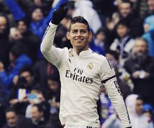 james rodriguez, real madrid, and soccer image