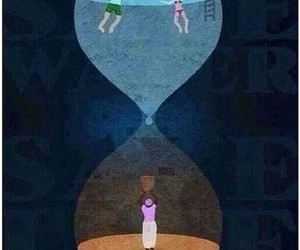 water, poor, and sad image
