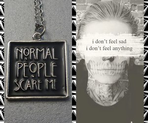 ash, pendant, and american horror story image