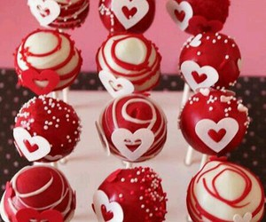 cake pops and red image
