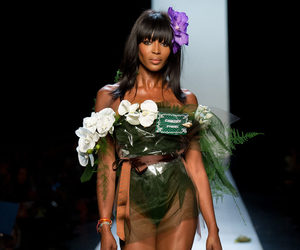 fashion, Jean Paul Gaultier, and Naomi Campbell image
