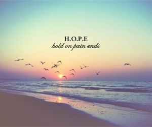 hope, quote, and pain image