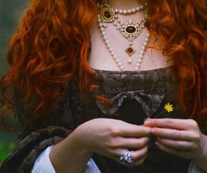princess, ginger, and hair image
