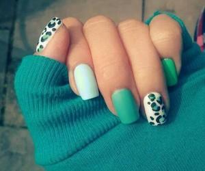animal print and nails image