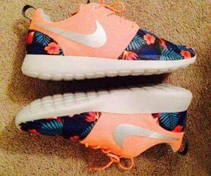 flowers, cute, and nike image