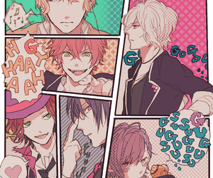 diabolik lovers, anime, and sakamaki image
