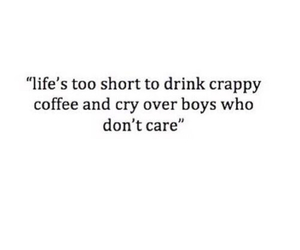 boy, quotes, and coffee image