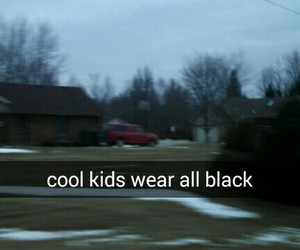 black, cool, and kids image