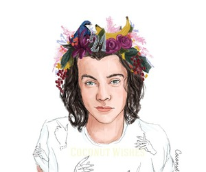 Harry Styles, one direction, and fan art image