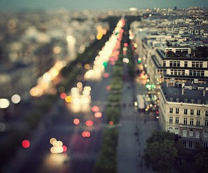 light, city, and paris image