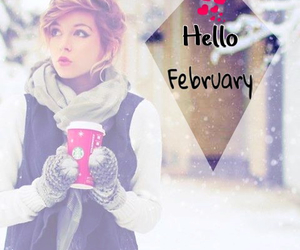 cold, february, and girl image