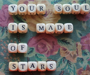 quote, stars, and soul image