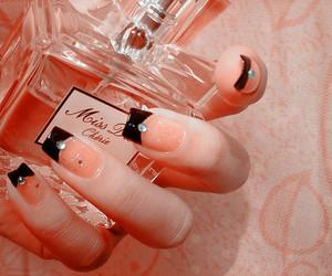 nails, perfume, and dior image