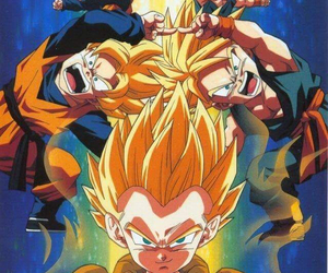 fusion, trunks, and goten image
