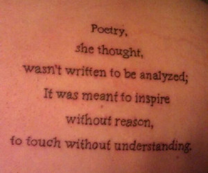 nicholas sparks, quote, and tattoo image