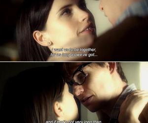 love, the theory of everything, and quote image