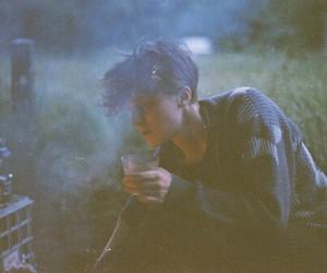 boy, smoke, and vintage image