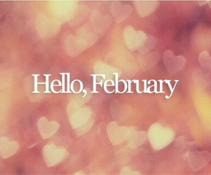 february, month, and heart image