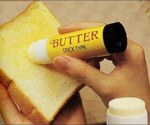 butter, food, and toast image